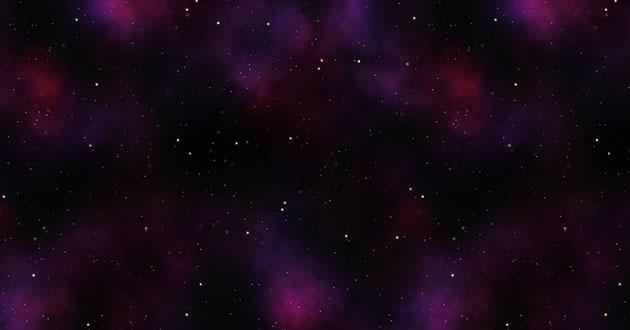 【無料素材】商用可!コスモを感じるシームレスな宇宙空間パターン