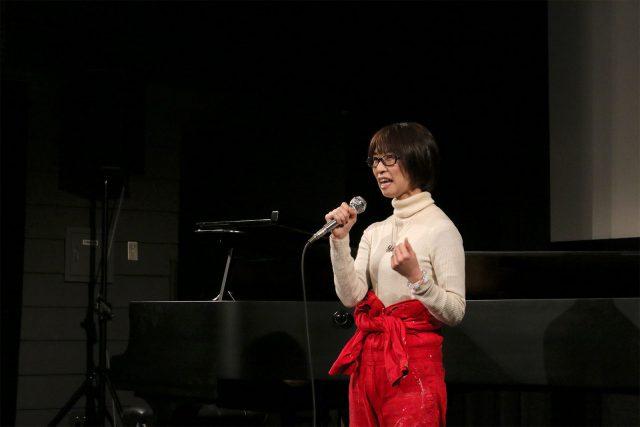 みんなを巻き込む舞台美術を創り上げた山田輝見子ちゃん