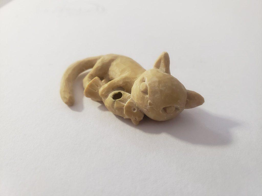 ネコお香立てサンプル02